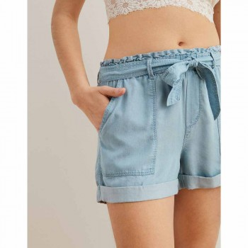 AERIE CAMP SHORT BLUE