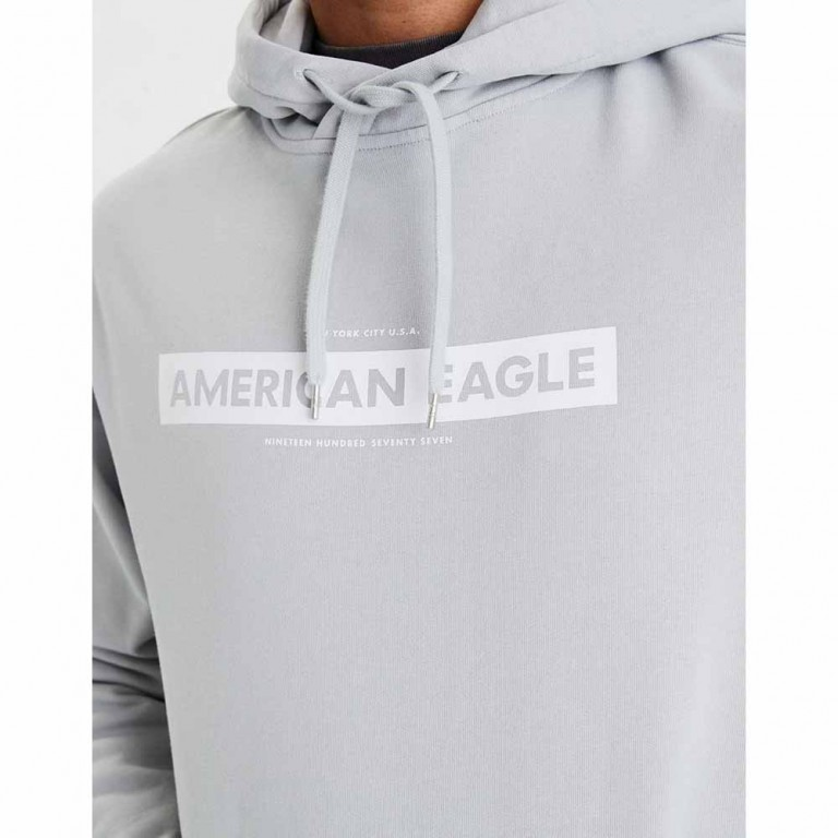 AMERICAN EAGLE 1323 MARCH AQUA WASH COTTON PO GRAY