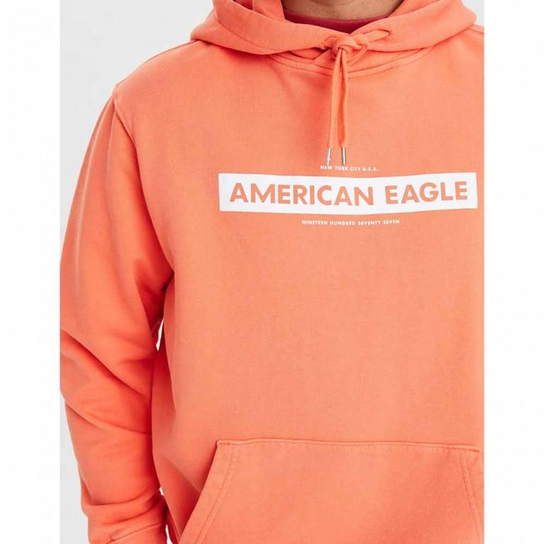 AMERICAN EAGLE 1323 MARCH AQUA WASH COTTON PO ORANGE