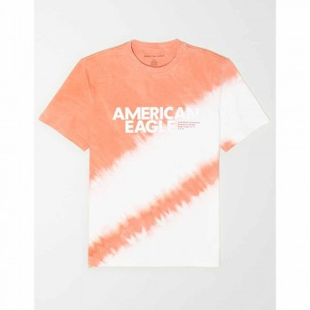 AMERICAN EAGLE SS SET IN TEE CORAL SUN
