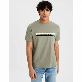 AMERICAN EAGLE SS SET IN TEE OLIVE