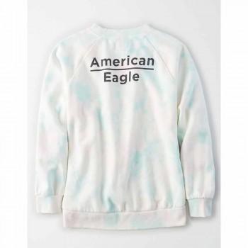 AMERICAN EAGLE GRAPHICS INTL CREW-WASH MULTI