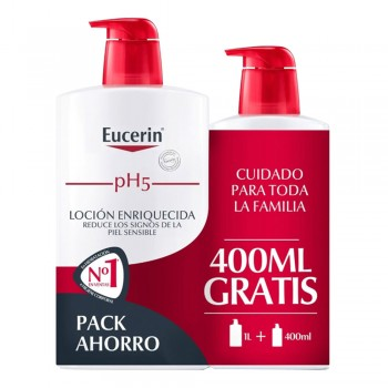 EUCERIN FAMILY PACK LOCIÓ CORPORAL 1L+400ML