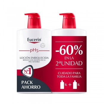 EUCERIN PACK LOCIÓ ENRIQUIDA 2X1L