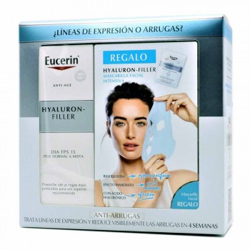 EUCERIN HYALURON FILLER DIA PELL NORMAL MIXTA+ MASCARETA FACIAL