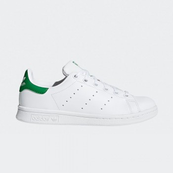 ADIDAS STAN SMITH INFANTS BLANC/VERD