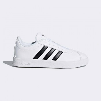 ADIDAS VL COURT 2.0 INFANTS BLANC/NEGRE