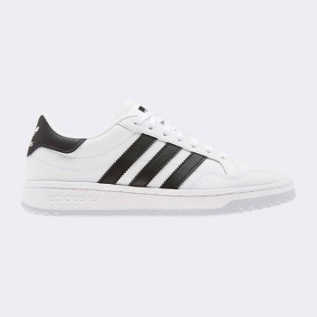 ADIDAS TEAM COURT INFANTS BLANC/NEGRE