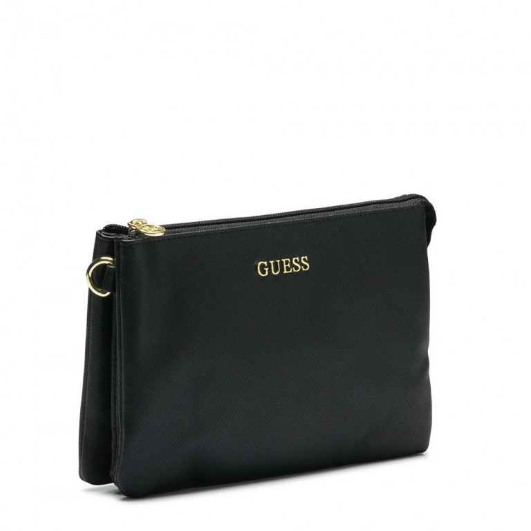 ARIANE THREE POUCH BLACK