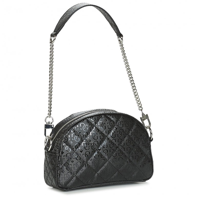 QUEENIE MINI CROSSBODY TOP ZIP BLACK