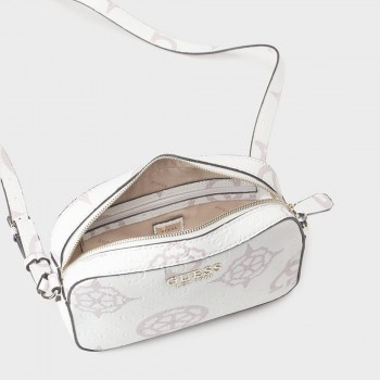 KAMRYN CROSSBODY TOP ZIP WHITE MULTI