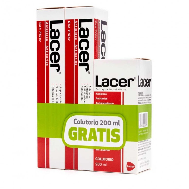 LACER PACK (PASTA LACER 2X125+COLOTURI 200ML)