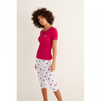 WOMEN'SECRET LOVE PIJAMA  PIRATA