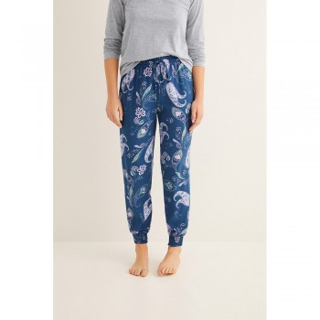 WOMEN'SECRET BLUE PANTALONS