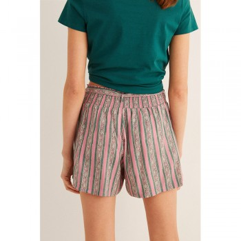 WOMEN'SECRET STRIPES PANTALONS CURT