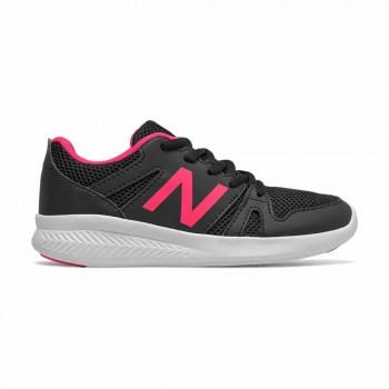 NEW BALANCE 570 NEGRE / ROSA INFANTIL